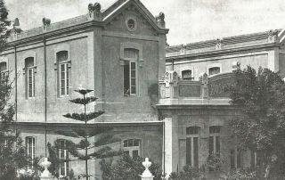 Imagen del Hospitalito de Niños en el año 1932. E. D.